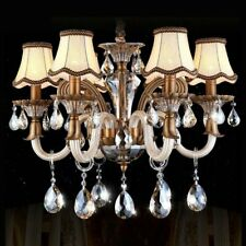 6 pcs Set Chandelier Lamp Shade Modern European Style Droplight Wall Lamp Candle