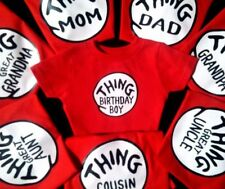 THING 1 and THING 2 all sizes infant toddler youth adult small medium large etc