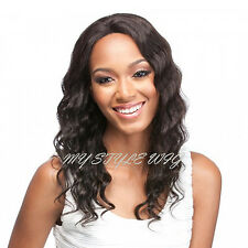 IT'S A WIG Brazilian Remi Human Swiss Lace Front Wig - HH S LACE REMI FLORENCE