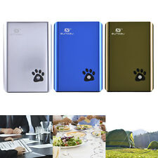 10000mAh Power Bank External Battery PowerBank Charger Dual USB for Smartphones