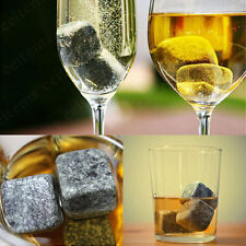 1/9pcs Whisky Wine Ice Stones Drinks Cooler Cubes Whiskey Granite Scotch Rocks