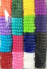 96PCS FASHION GIRL ELASTIC RUBBER HAIR TIES BAND ROPE PONYTAIL HOLDER SCRUNCHIES