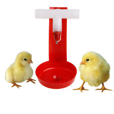 1/5/10Pc Poultry Water Drinking Cups Hanging Chicken Hen Automatic Fowl Drinker