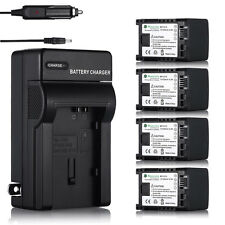 For Canon BP-819 BP-808 BP-809 VIXIA HF S10 S11 S100 Decoded Battery + Charger