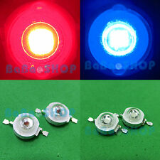 3W Dark Red 660nm + 3W Royal Blue 455nm High Power LED Lights Plant Aquarium