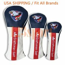 USA New Eagle Golf Driver/Fairway/Hybrid Cover Headcover for Callaway Ping Adams