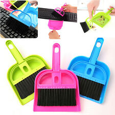Brand New Keyboard Brush with Dustpan Fingerboard Broom Brush Set Cleaning Tool