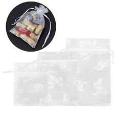 100 Wedding Organza Gift Bags Jewellery Christmas Packing Pouches Party Favour
