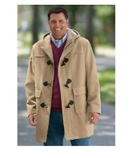 NWT MEN PLUS SIZE BIG AND TALL WOOL BLEND PARKA COAT  WINTER JACKET  MSRP $199