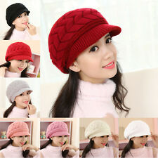 Knit Crochet Hat Slouch Ski Cap Winter Warm Baggy Beanie Hot Women Ladies Beret