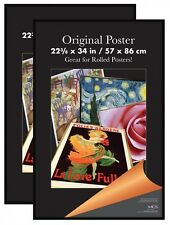 MCS 65548 2-Pack Original Poster Frame, 60cm by 90cm , Black. Shipping Included