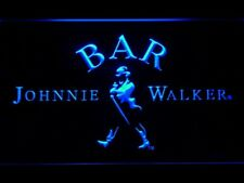 Johnnie Walker Whiskey LED Neon Sign On/Off Switch mens gift Bar handging sign