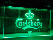 Carlsberg Beer Neon Sign Bar Pub room Displays light sign On/Off Switch decor
