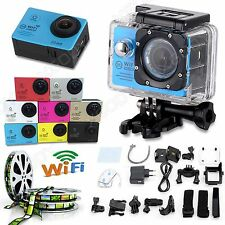 SJ7000 WiFi 2'' HD 1080P 12MP Waterpoof Sports Camera Helmet Action DV Dash Cam