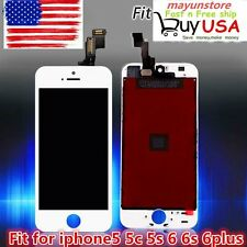 LCD Display+Touch Screen Digitizer Assembly Replacement for iPhone 5 5S 5C 6 Lot