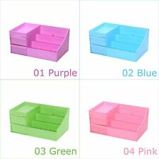Desktop Large Cosmetic Makeup Organizer Box with Drawers, Jewelry Trays Storage