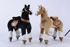 NEW FUN CHILD KIDS TEENAGE CLIP CLOP PONY RIDE / CYCLE MODE ROCKING HORSE