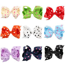 1 Pcs Bowknot Hairpin Kids Baby Girls Hair Bow Clips Barrette Boutique