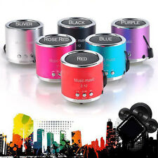 Handfree Wired Portable Mini Speaker Subwoofer FM Radio USB Micro SD TF Card MP3
