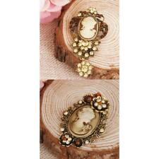 Vintage Style Women's Hair Clip Brooch Pin Fashion Hair Brooches