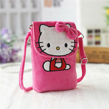 New Hellokitty Plush Mobile phone Messenger Bag Purse #lyo-1255