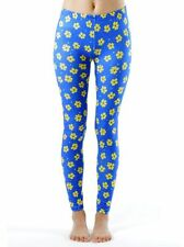Dinamit Jeans Yellow Flowery Spotted Ankle Length Leggings