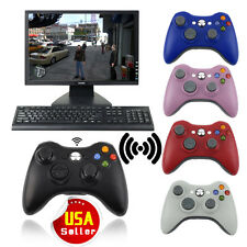 Wireless Gamepad Joypad Game Remote Controller Joystick For Xbox 360 Console Lot