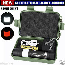 G700 6000LM Tactical Zoomable X800 XML T6 LED Military Flashlight Torch New Lamp