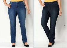 NWT CJ BANKS CHRISTOPHER BANKS CLASSIC AVERAGE FIT STRAIGHT LEG JEANS $ 46-50