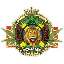 Rasta Lion Rastafarian Jamaica King Of The Jungle Cat Weed Marijuana T-Shirt Tee