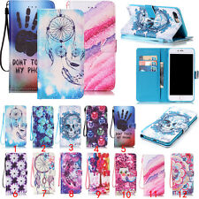 Phone case For Apple iPhone/Ipod/Huawei/LG Wallet Flip Leather Patterned Cover