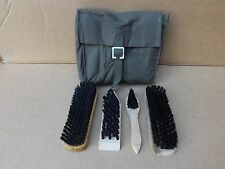 GENUINE ISSUE GERMAN ARMY BOOT CLEANING KIT **NEW / SUPER GRADE