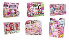 New Shopkins Childrens Deluxe Playset Figures Collection Sets Toys