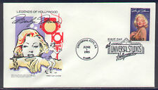 1995 MARILYN MONROE  ~ LEGENDS OF HOLLYWOOD ~ HF CACHET FIRST DAY COVER