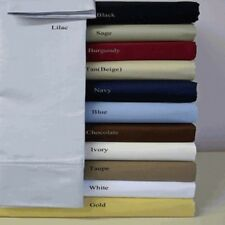 1500 Series- Super Soft- Wrinkle Resistant Microfiber Water Bed Sheet Set With P