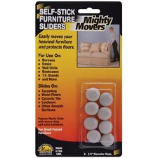 Mighty Movers Self-Stick Furniture Sliders. Free Delivery