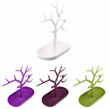 Jewelry Necklace Ring Earring Tree Stand Display Organizer Holder Rack BU