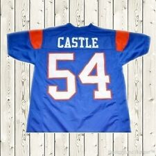 Thad Castle Football Jersey #54 Blue Mountain State Goats Movie Stitched Blue