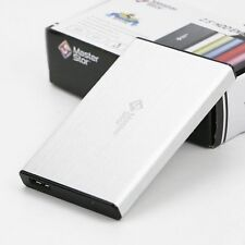 "MasterStor External Hard Drive USB 3.0 Super Fast 2.5"" Laptop SATA HDD Silver"