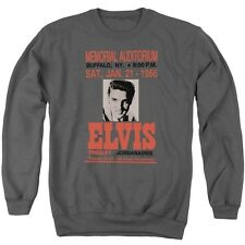 Elvis - Buffalo 1956 Adult Crewneck Sweatshirt