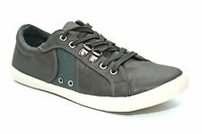 Mens Lace Up Flat Casual Summer Plimsoles Trainers Shoes Size UK 7 8 9 10 11