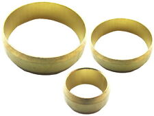 10mm, 15mm, 22mm Brass Olives for Compression Fittings / Copper Pipes