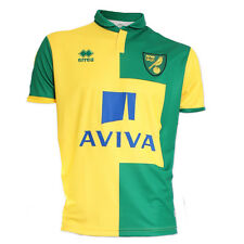OFFICIAL NORWICH CITY FOOTBALL CLUB 2015-16 PLAYER ISSUE HOME SHIRT