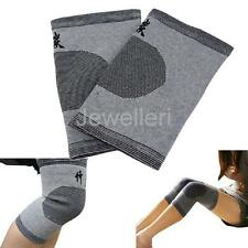 1 Pair Far Infrared Bamboo Charcoal Knee Pad Brace Support Kneecap Protector