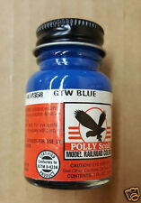 POLLY SCALE Model Railroad #414358 GTW Blue Model Paint 1 fl. oz.