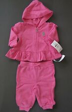 Ralph Lauren polo Baby Girl Tracksuit Size 3 Months 6 Months 9 Months NWT