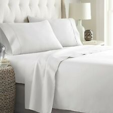 HOTEL COLLECTION BEDDING ITEMS 1000TC EGYPTIAN COTTON SELECT SIZE&ITEM -WHITE