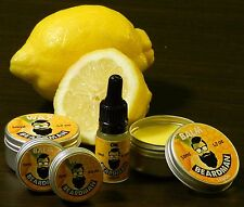 BEARDMAN Wax Moustache & Beard Wax Balm Oil Kit Handmade Natural