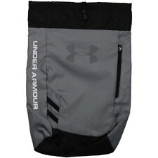 Under Armour Backpacks - Trance Sackpack - Steel, Black, White