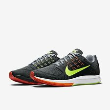 Mens Nike Air Zoom Structure 18 Running Sneakers 683731-001 Mens Sizes 8.5-13